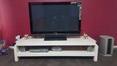 TV UNIT WHITE AS GOOD AS NEW | Entertainment & TV Units | Gumtree Australia Melton Area - Truganina | 1174121651