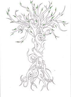 tatouage arbre - Recherche Google