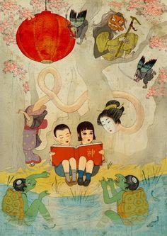 Jonathan Burton's beautiful book covers