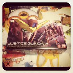 [RG] Justice Gundam 박스아트