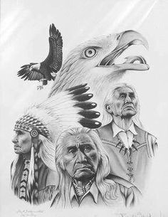 You Are a Person of Little , but it is Better to Have Little of What is Good, Than to Possess Much of What is Not Good . This Your Heart Will Know, -If You Let It Happen. --Chief Dan George... By Artist Unknown...