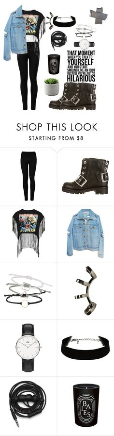 """""""Untitled #44"""" by manerefortis ❤ liked on Polyvore featuring Wolford, Alexander McQueen, Topshop, Repossi, Daniel Wellington, Urbanears, Diptyque, Leggings and WardrobeStaples"""