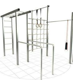 Freeletics station for outdoor use - Garten - Home Gym Calisthenics Equipment, Calisthenics Workout, No Equipment Workout, Trx, Fitness Workouts, At Home Workouts, Workout Exercises, Outdoor Gym Equipment, Outdoor Play Gym