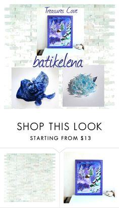 """""""batikelena"""" by cozeequilts ❤ liked on Polyvore featuring WALL"""