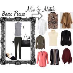 Basic Pieces & swaps