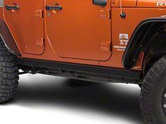 Smittybilt SRC Classic Sides 07-16 Jeep Wrangler JK Unlimited 4 Door 76636 Black