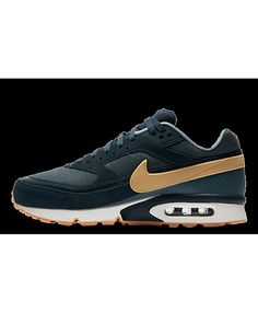 the latest bff82 1b880 Unisexe Chaussures - Nike Air Max BW Premium Navy Gummi 819523 - 401 Remise