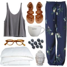 """summer mornings"" by beachy-palms on Polyvore"