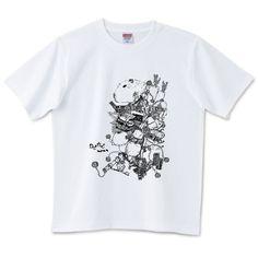 カピカピカピバラ | デザインTシャツ通販 T-SHIRTS TRINITY(Tシャツトリニティ)