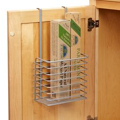 Kitchen Wrap Organizer | Corral your clutter and stay in control.