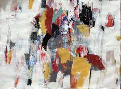 "Saatchi Online Artist: Julie Schumer; Mixed Media, 2012, Painting ""Landscape Composition 26"""