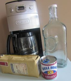 Simple iced Coffee with Sweetened condensed milk. Hmm. Gotta try.