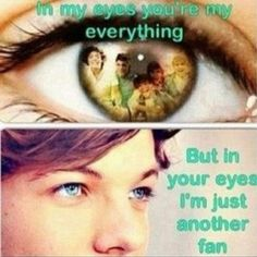 Way too true.. But I mean I look at the boys so much I wish their picture was like imprinted in my eye!! Haha ya I'm weird....:/