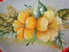 Resultado de imagem para pintura em tecido pinterest