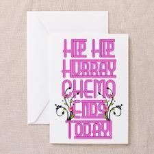 Cancer Chemo Over Greeting Card