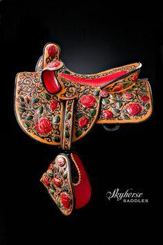 Lisa & Loren Skyhorse - Master Saddle Makers Since 1972 Horse Bridle, Horse Gear, Horse Saddles, Western Saddles, Side Saddle, Barrel Saddle, Saddle Rack, Barrel Horse, Horse Costumes