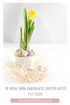 An Easter gift guide which doesn't focus on chocolate. Perfect inspiration for Easter presents for your kids! Easter Presents, Easter Gifts For Kids, Spring Crafts For Kids, Egg Crafts, Easter Crafts, Easter Books, Happy Easter Everyone, Easter Tree, Easter Chocolate