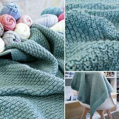 Moss Stitch, Rain Drops, Rowan, Merino Wool Blanket, Baby Knitting, Baby Gifts, Olsen, Knit Crochet, Pattern