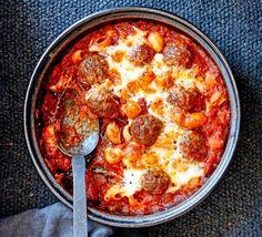 Melting meatball macaroni 2016