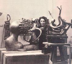 Maria Martins em Paris, 1950