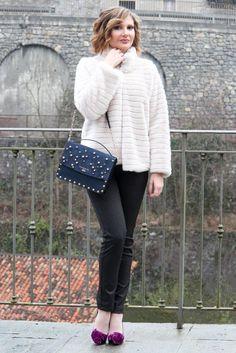 Outfit invernale raffinato con Gasoline (Winter Fashion Outfit Idea)