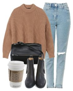 """Untitled #7064"" by laurenmboot ❤ liked on Polyvore featuring Topshop, Givenchy and Acne Studios"