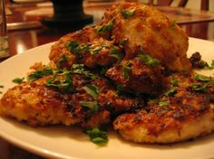 Chicken Schnitzel. Photo by Dr. Jenny