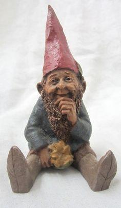 shopgoodwill.com: 017 - Tom Clark `Mugmon` Gnome Garden Gnomes, Garden Statues, Mushroom Crafts, Elf Face, Tom Clark, Gnome House, Santa Clause, Trippy, Elves