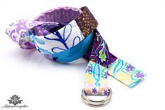 Patchwork Gürtel von #Lieblingsmanufaktur: Farbenfrohe Loop Schals, Tücher und mehr auf DaWanda.com