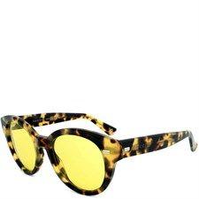 Tortoise Yellow Acetate Sunglasses