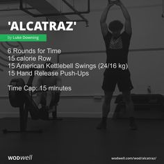 Crossfit Workouts At Home, Rowing Workout, Wod Workout, Lifting Workouts, Fun Workouts, Morning Workouts, Kettlebell Swings, Michael Murphy, Conditioning Workouts
