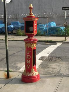 FDNY Fire Alarm boxes | Flickr - Photo Sharing!