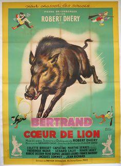 Bertrand coeur de lion - 1950