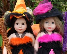American Girl Halloween Costumes are at www.harmonyclubdolls.com