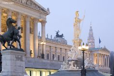 Austrian Parliament Building, #Vienna