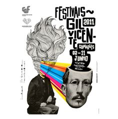 poster festival Gil Vicente by Atelier Martinoña