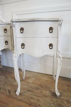 Antique French Carved Nighstands pair  #Home #Decor ༺༺  ❤ ℭƘ ༻༻