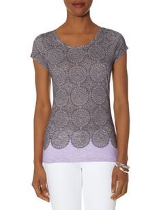 Tile Print Tee from THELIMITED.com