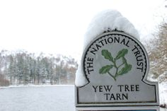 Yew Tree Tarn sign in the snow Lake District, Snow, Photography, Photograph, Fotografie, Photoshoot, Eyes, Fotografia, Let It Snow