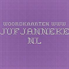woordkaarten www.jufjanneke.nl