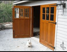 Good doors make good neighbors. Articles about custom swing out carriage house garage doors. Evergreen Carriage Doors builds custom hand crafted authentic antique carriage house doors and carriage garage doors. Swing Out Garage Doors, Carriage House Garage Doors, Diy Garage Door, Carriage Doors, Garage Door Design, Shed Doors, Garage Ideas, Carport Ideas, Garage Bedroom