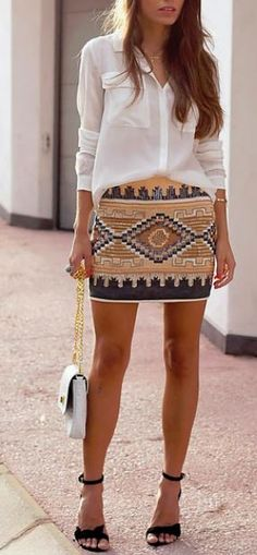 Love the aztec pattern here. Get discounts on awesome pieces like this and more!