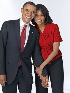 President Barack Obama and the First Lady ...  I LOVE this picture.