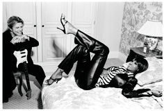 Flashback: David Bowie and Iman in 2003, Styled by Edward Enninful - David Bowie Iman Tommy Hilfiger-Wmag
