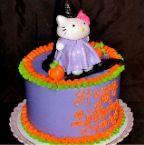 Hello Kitty Witch Birthday Cake