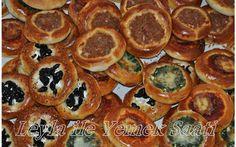 Bir Tariften Çeşitli Pastane Poğaça Tarifleri Turkish Recipes, Ethnic Recipes, Savory Pastry, Sushi, Muffin, Breakfast, Food, Drinks, Chef Recipes