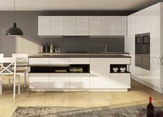 Model Poro Aperto Minimalism, Kitchen Cabinets, Italy, How To Make, 1, Furniture, Modern, Home Decor, Italia