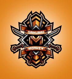 Samurai Monkey on Behance