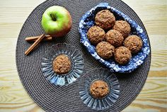 Buckwheat muffins with apples and cinnamon