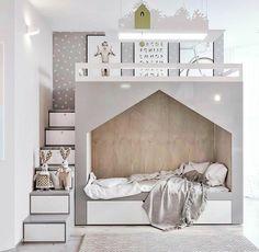 Modernes Kinderzimmer, in dem das Design des Bettes den Unterschied macht: 18 su… Modern children's room where the design of the bed makes the difference: 18 super inspiring ideas – –